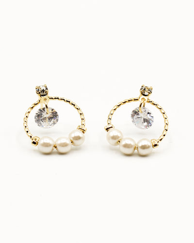 Fashion Q Shop Q Let Your Light Shine Gold Earrings GE1338