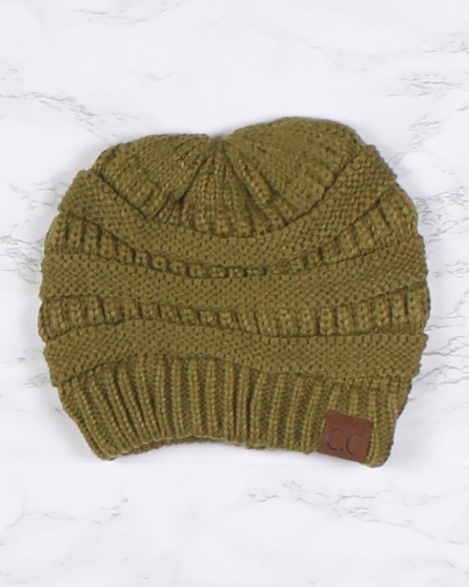 Fashion Q Shop Q Daydream Beanie (Olive) HAT-20A