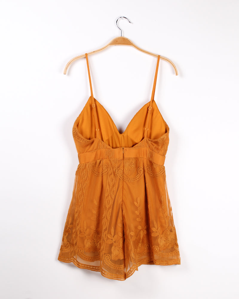 Call it Magic Romper (Mustard)