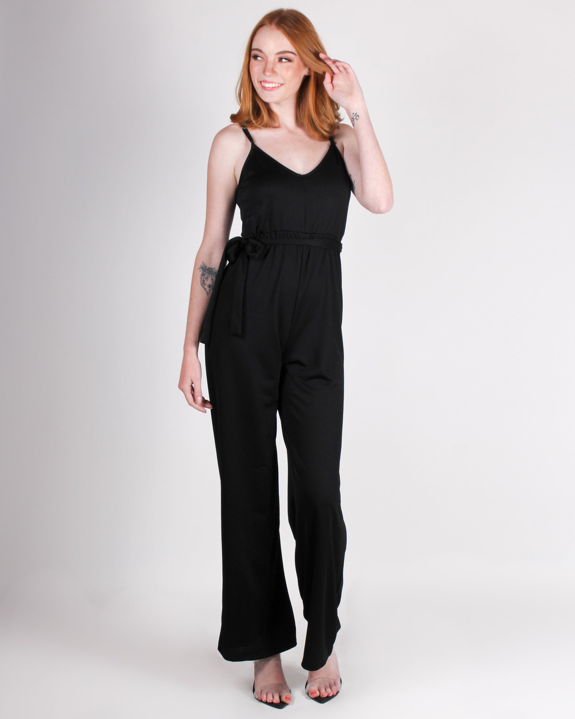Fashion Q Shop Q Dare to Stand Out Jumpsuit (Black) HMP30813-S