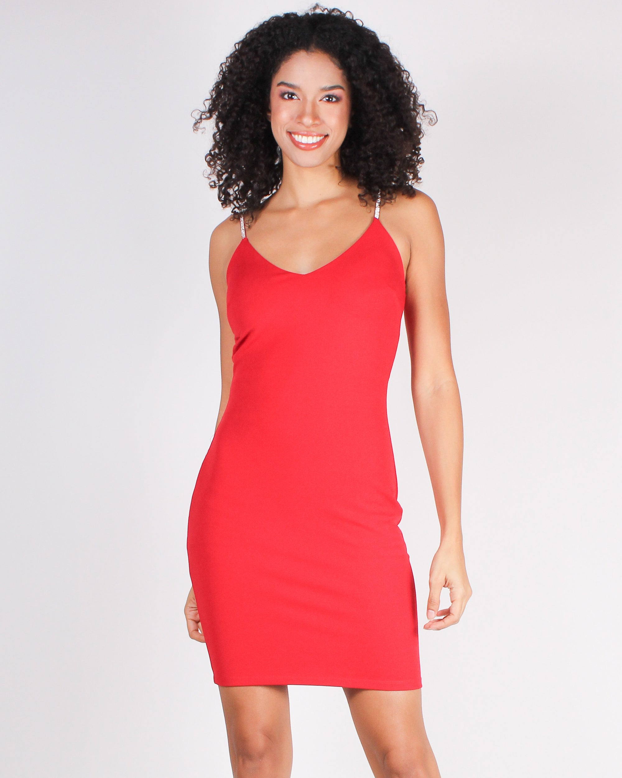 What They Remember Bodycon Dress (Red)