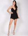 Fashion Q Shop Q Leave Them Speechless Romper (Black) IP7153