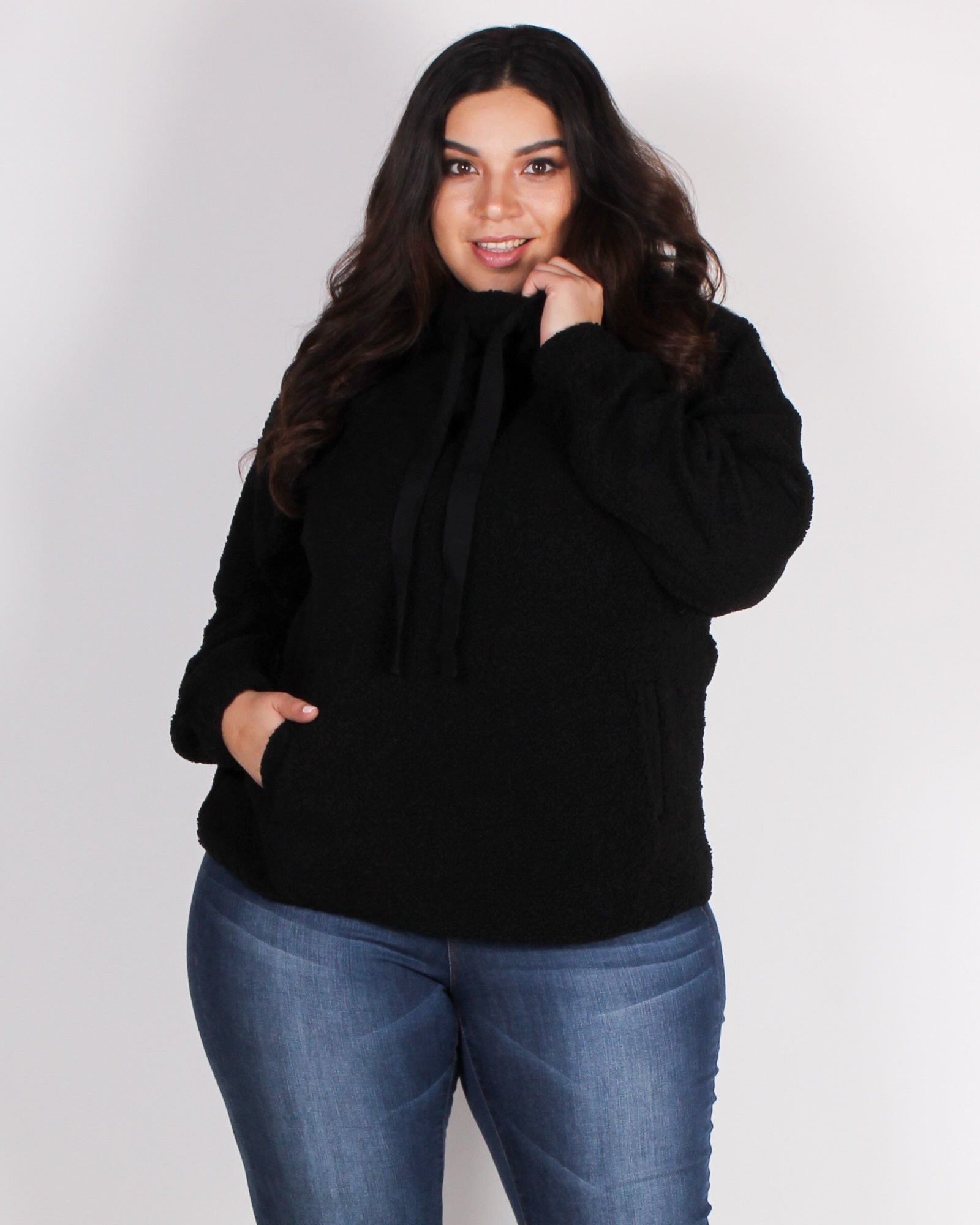 Fashion Q Shop Q An Adventure is Beginning Teddy Bear Pullover (Black) IT4231-1