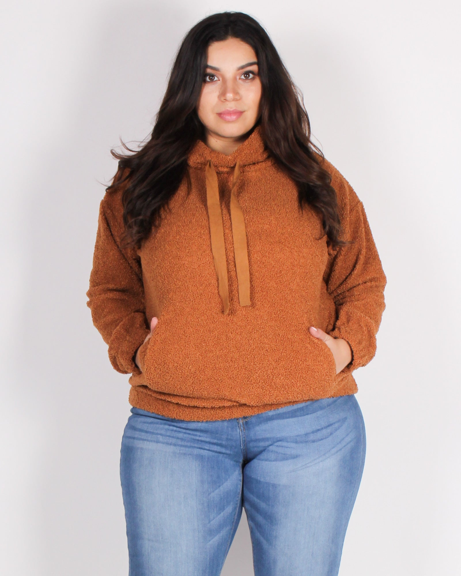 Fashion Q Shop Q An Adventure is Beginning Teddy Bear Pullover (Camel) IT4231-1