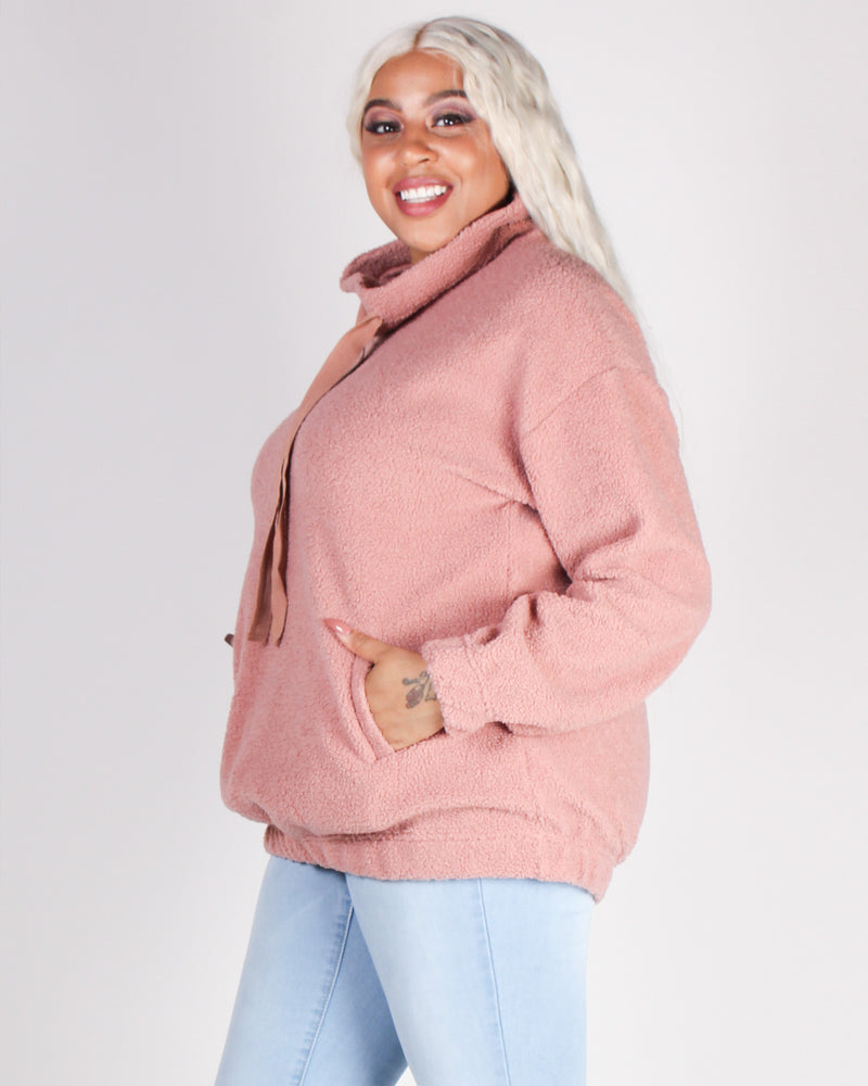 Fashion Q Shop Q An Adventure is Beginning Teddy Bear Pullover (Mauve) IT4231-1
