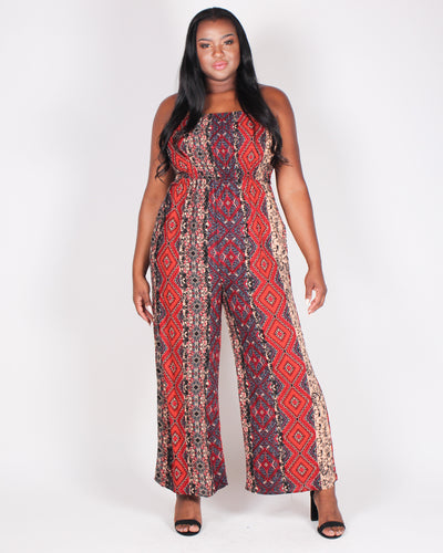 Fashion Q Shop Q A Little Boho To Brighten Your Day Jumpsuit ITJS4073