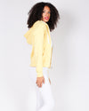 Fashion Q Shop Q Basic Solid Zip Up Jacket (Banana) J415
