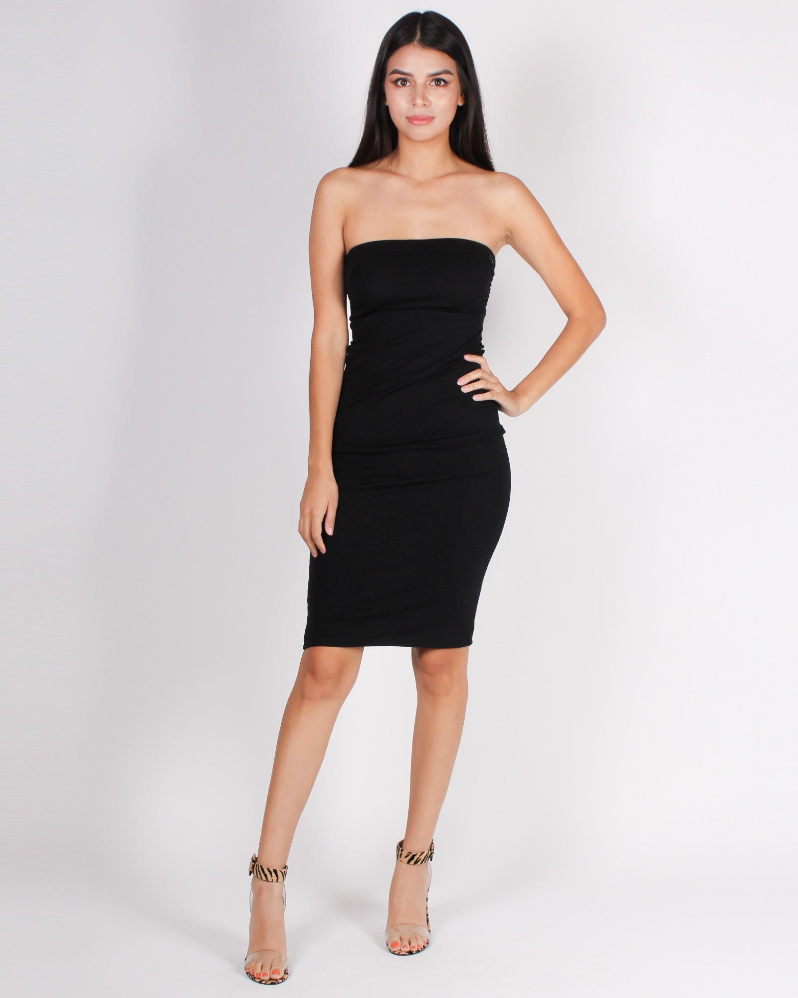 Fashion Q Shop Q The Chameleon Dress (Black) JD16295