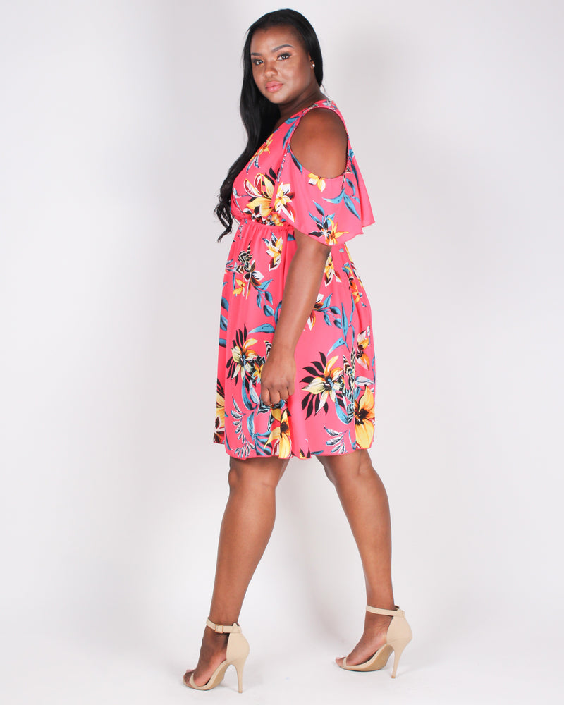 A Floral to Remember Sundress (Pink)