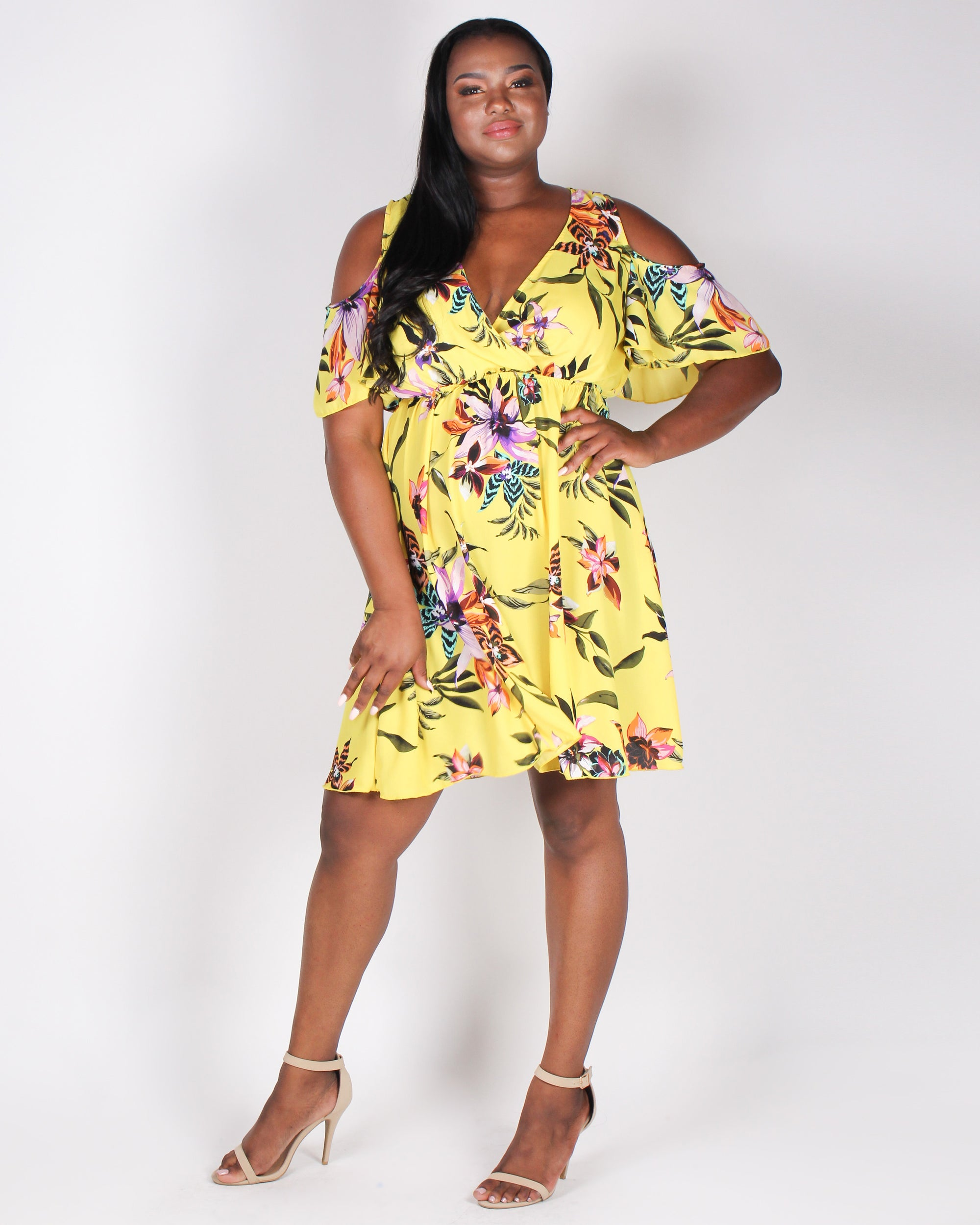 A Floral to Remember Sundress (Yellow)