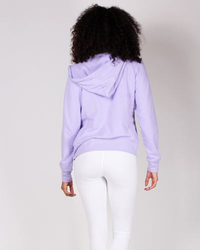 Fashion Q Shop Q What Will Be, Will Be Zip Up Hoodie (Lavender) JK300