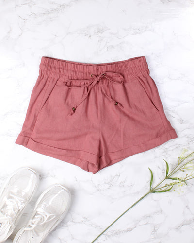 The Willow Shorts (Guava)