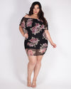 Live Life in Full Bloom Flounce Plus Dress