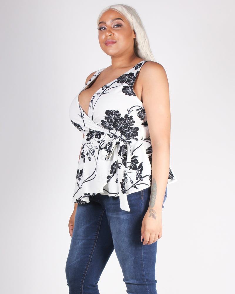 Fashion Q Shop Q Be the Energy You Want to Attract Plus Blouse (White) LT21803