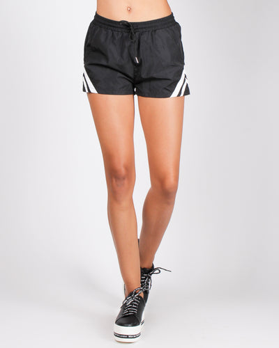 Fashion Q Shop Q The Sky Has No Limits Shorts (Black) P6018