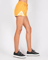Fashion Q Shop Q The Sky Has No Limits Shorts (Hot Mustard) P6018