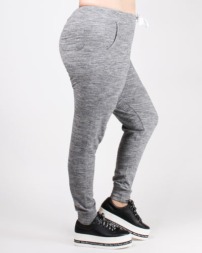 Own it, Babe Plus Jogger Pants (Marled Charcoal)