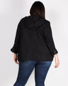 Fashion Q Shop Q Fortune Favors the Bold Plus Cargo Jacket (Black) PTA9299