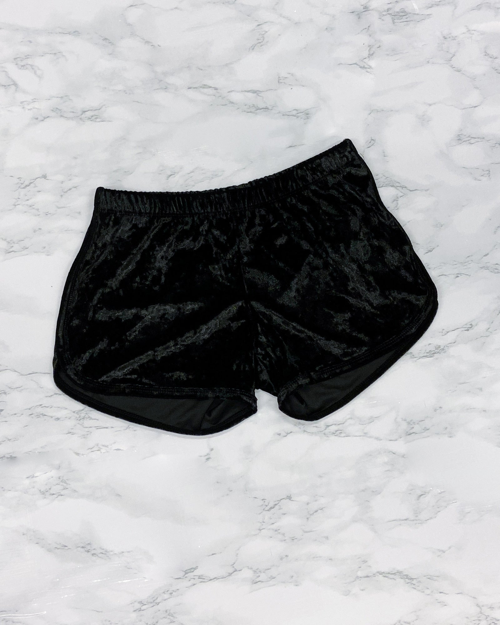 Fashion Q Shop Q Beautiful Things to Come Velvet Shorts (Black) PX7018