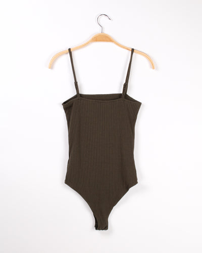 Fashion Q Shop Q Followed My Heart and it Led to You Bodysuit (Olive) RC34643