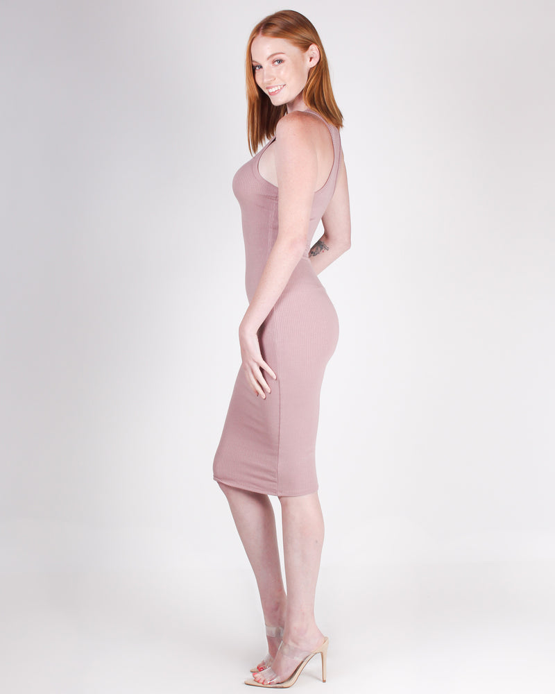 Fashion Q Shop Q Master of Style Bodycon Dress (Rose) RD61499