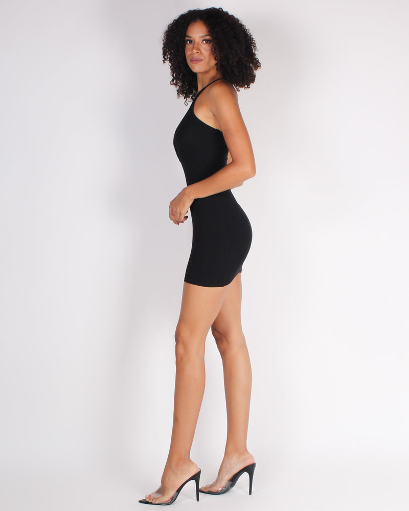 Fashion Q Shop Q Relish in the Good Times Bodycon Dress (Black) RD67180
