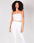 Fashion Q Shop Q You've Got This Vibes Tube Top (White) RT62129