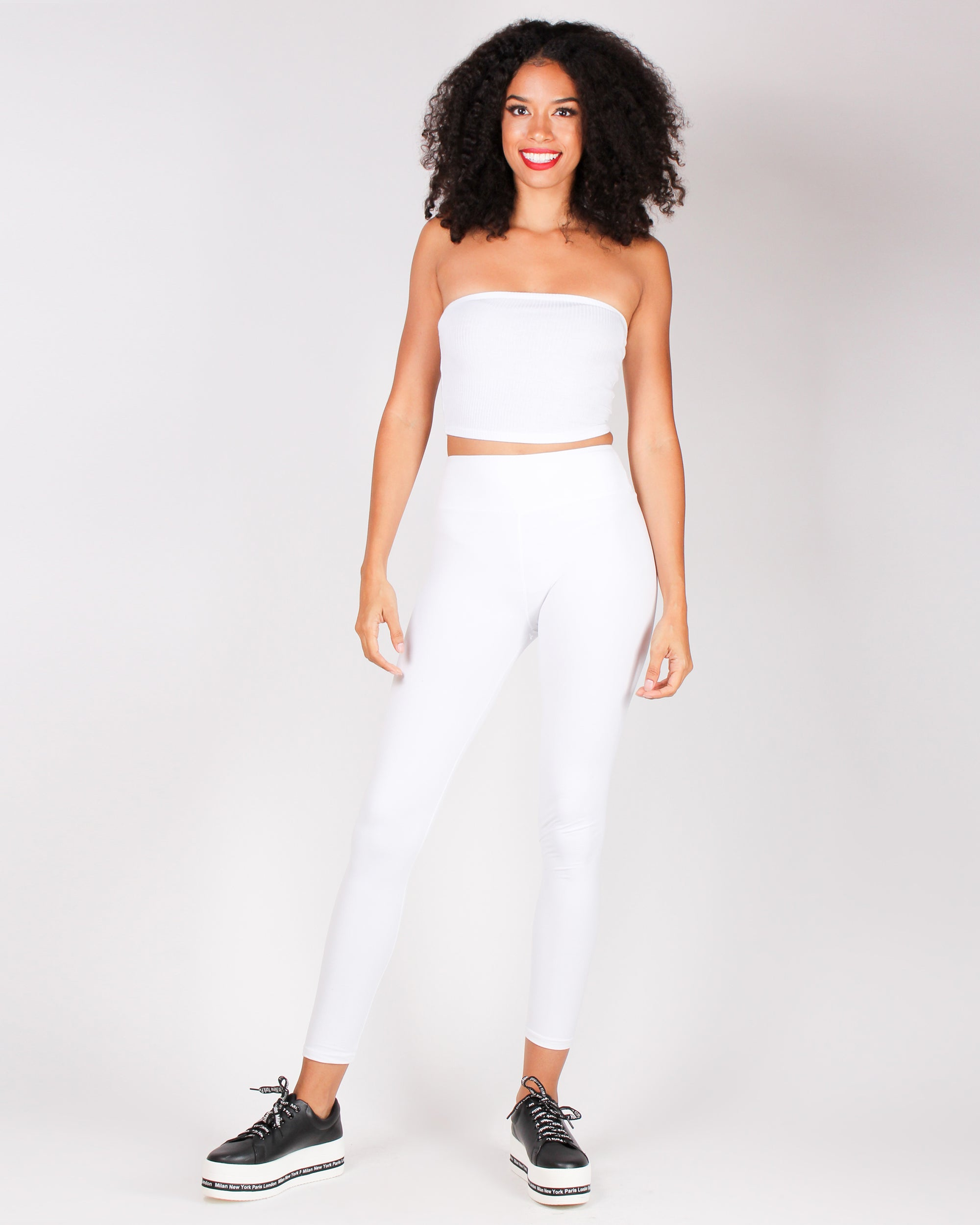 You\'ve Got This Vibes Tube Top (White) - Shop Q