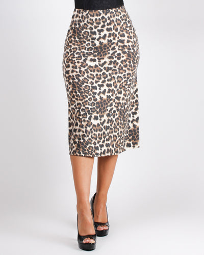 Fashion Q Shop Q Can't Tame My Cheat-ah Ways Midi Skirt S8351