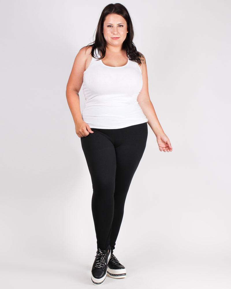 Dream, Believe, Achieve Plus Yoga Pants (Black)