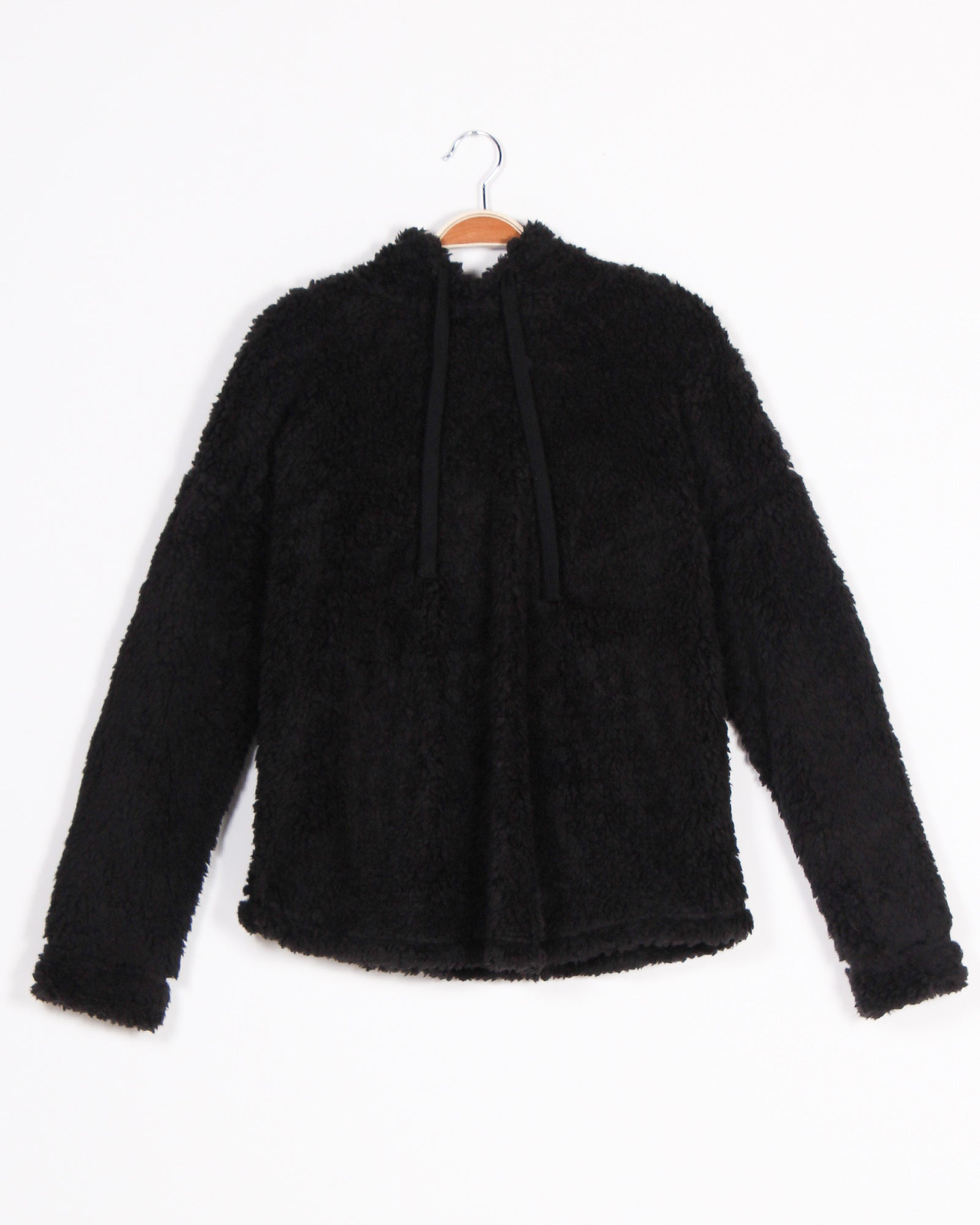 Fashion Q Shop Q Are You Fur-eal Hoodie (Black) T10132
