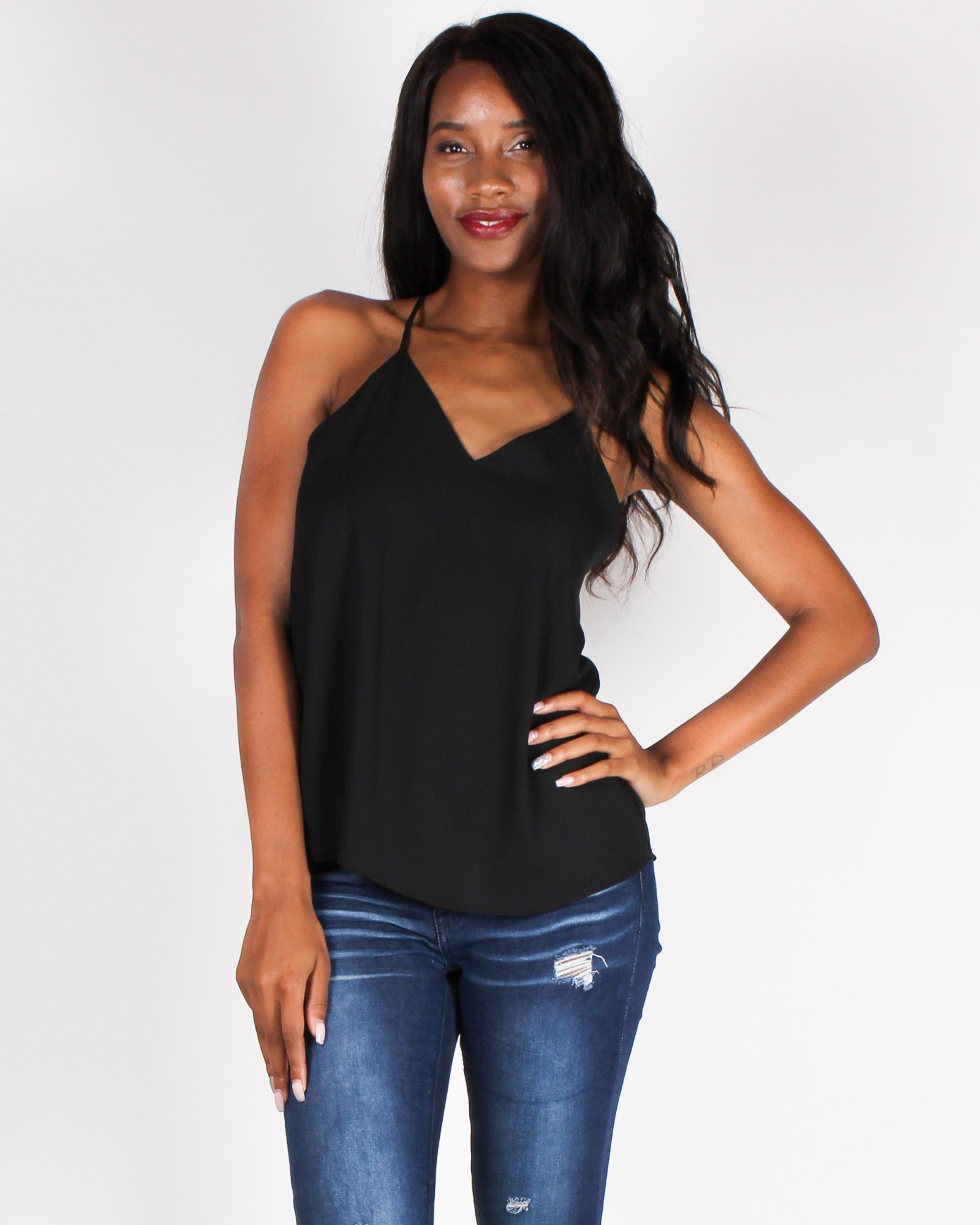 Rise and Slay Blouse (Black)