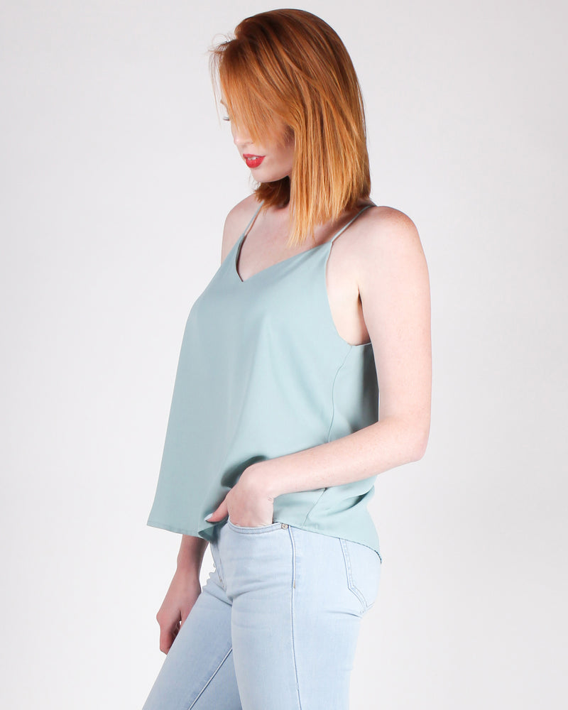 Fashion Q Shop Q One Day at a Time Blouse (Fizzy Mint) T10381