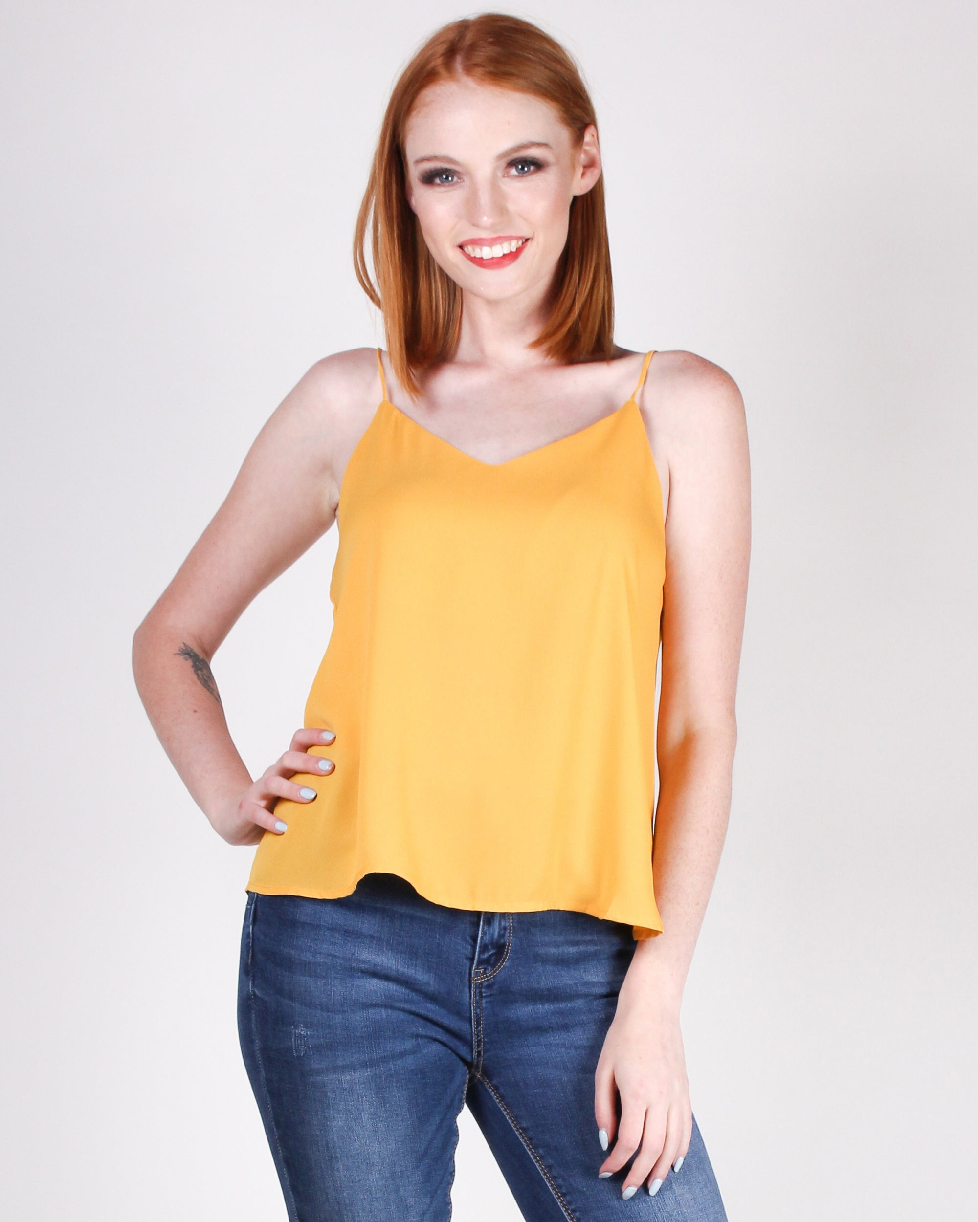 Fashion Q Shop Q One Day at a Time Blouse (Yellow) T10381