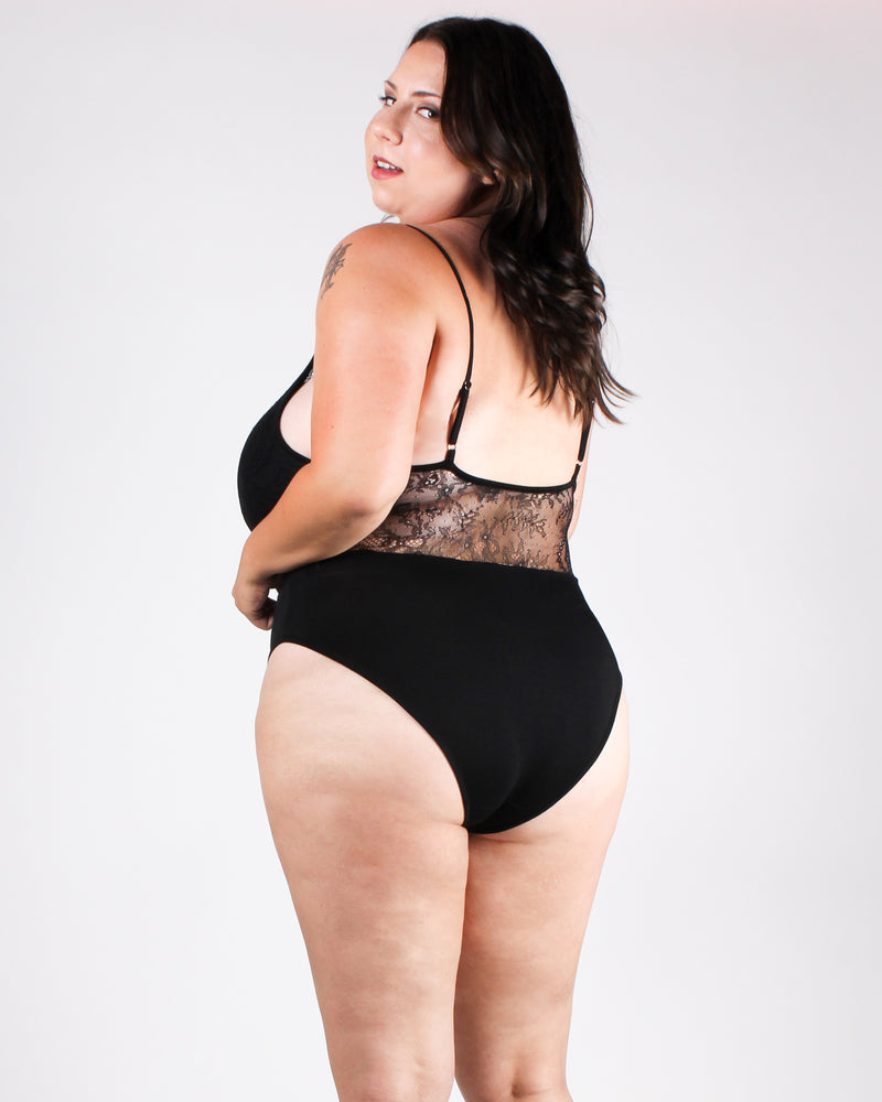 Belle Ame Lace Plus Bodysuit