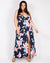 Fashion Q Shop Q Go Where You've Never Been Plus Maxi Dress (Navy) TD10027