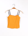 Fashion Q Shop Q Keep Life Simple Crop Top (Mustard) TX7463