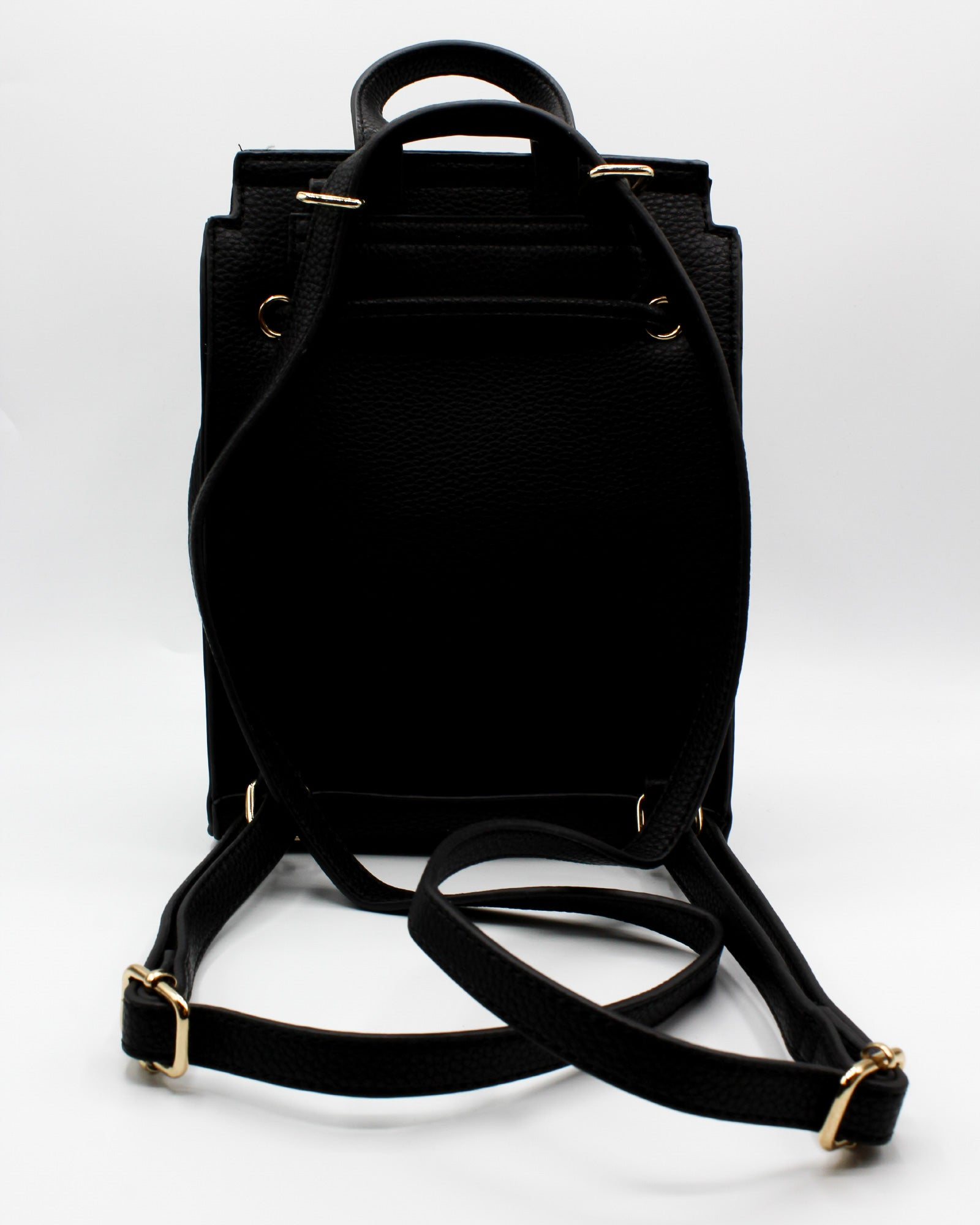 Where to Next Mini Black Backpack - Shop Q