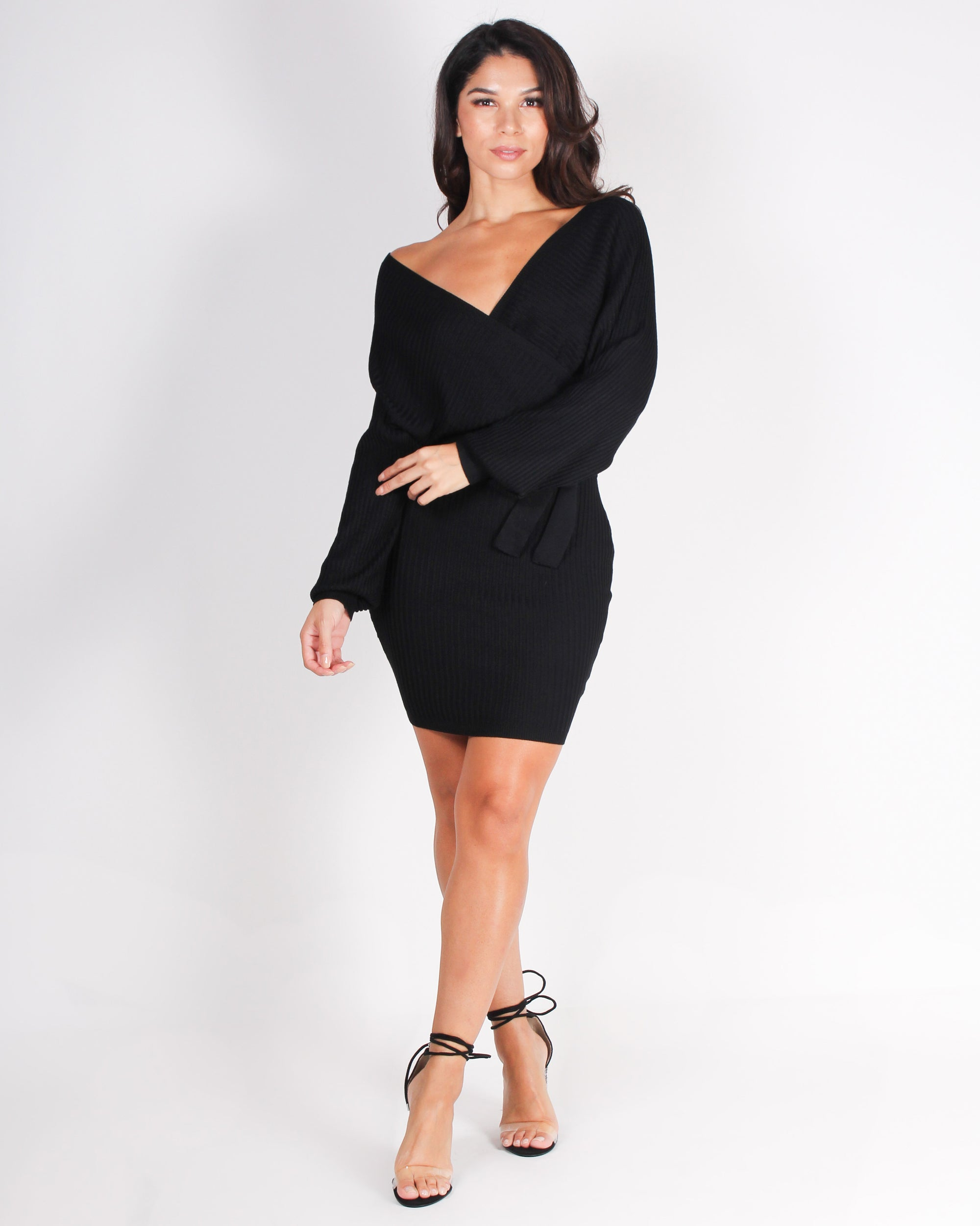Fashion Q Shop Q Awaken Your Fire Bodycon Dress (Black) W9025