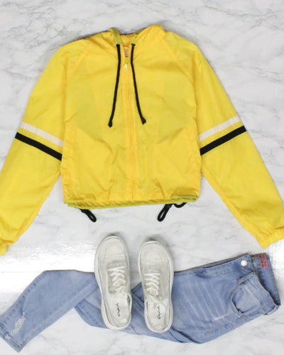 Fashion Q Shop Q Activate Beast Mode and Slay Windbreaker (Daisy) WJ33922L
