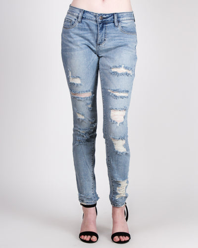 Get Lost in Adventure Skinny Jeans
