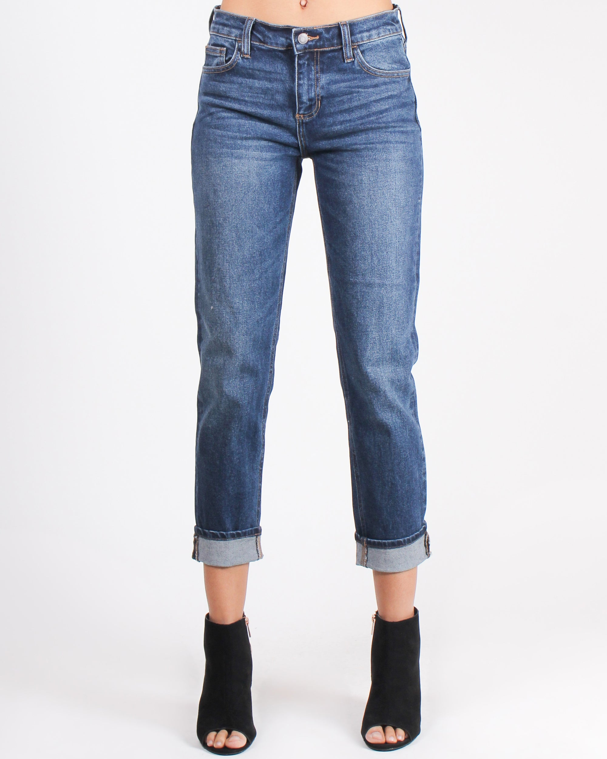 Fashion Q Shop Q Walk like You Own the Place Boyfriend Jeans WV17021BF