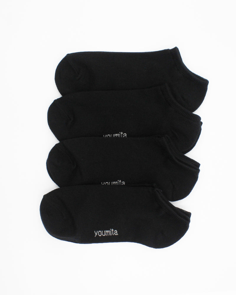 Fashion Q Shop Q Walk Boldly Toward Your Dreams Liner Socks (Black) YM01