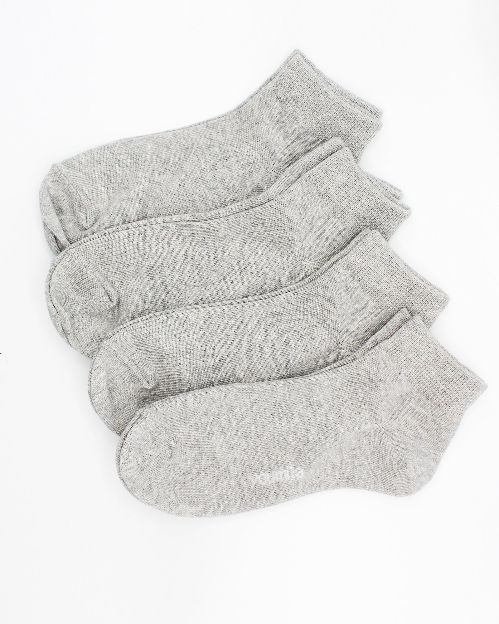 Movements in Life Anklet Socks (Grey)