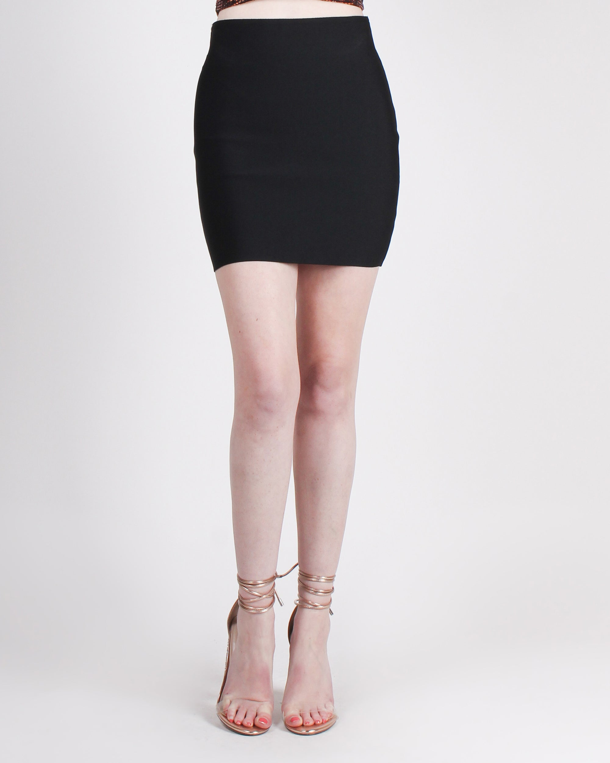 Fashion Q Shop Q Celebrate Your Hustle Miniskirt (Black) YS2484
