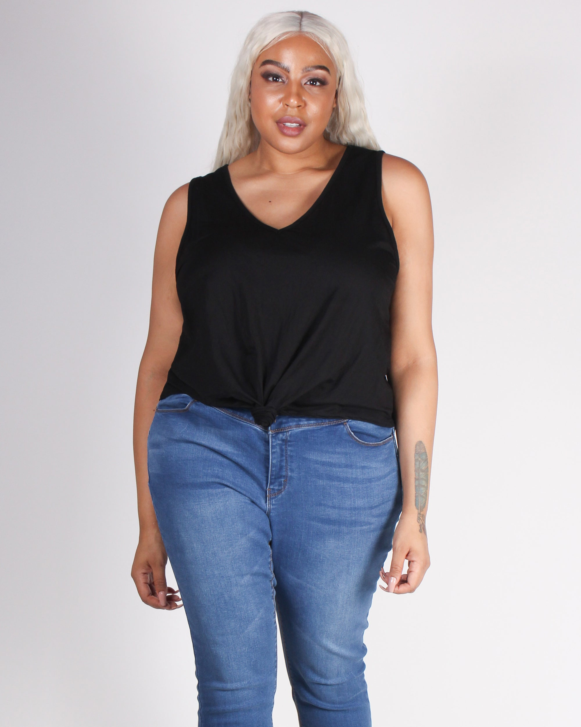 Fashion Q Shop Q Today the Game Changed Top (Black) ZA1597