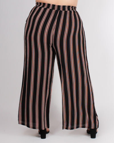 Fashion Q Shop Q YOLO All Day Pants- Waistline: High-rise (Black) ZB9827F3