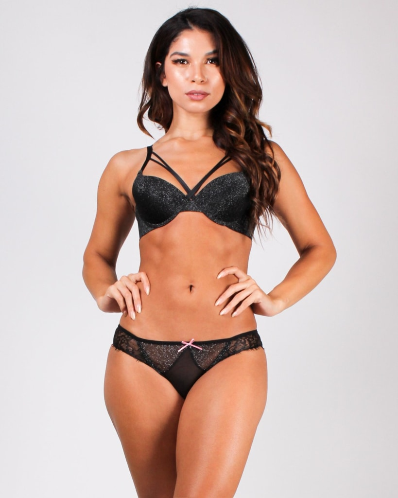 A Glitteral Lacely Mesh Panties Intimates