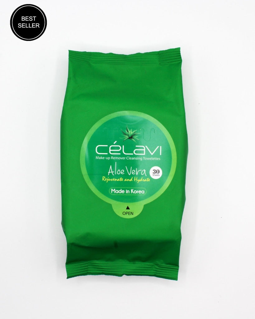Aloe Vera Rejuvenate And Hydrate Cleansing Towelettes Makeup Remover