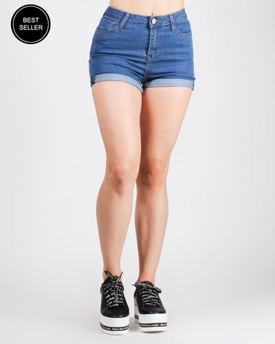 Fashion Q Shop Q Always The Answer Cuffed Shorts IRH5069